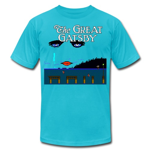 Great Gatsby Game Tri-blend Vintage Tee - Unisex Jersey T-Shirt by Bella + Canvas