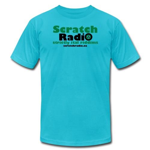 Scratch Radio URL - Unisex Jersey T-Shirt by Bella + Canvas