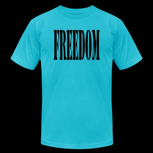 Freedom Logo - Unisex Jersey T-Shirt by Bella + Canvas