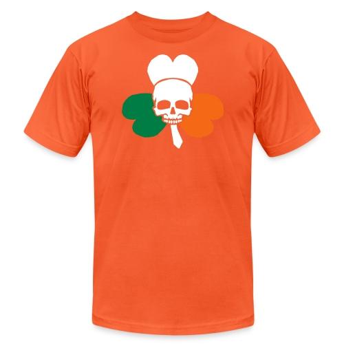 irish_skull_shamrock - Unisex Jersey T-Shirt by Bella + Canvas