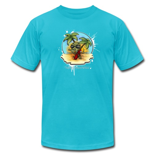 let's have a safe surf home - Unisex Jersey T-Shirt by Bella + Canvas