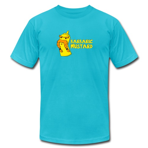 newmustard png - Unisex Jersey T-Shirt by Bella + Canvas