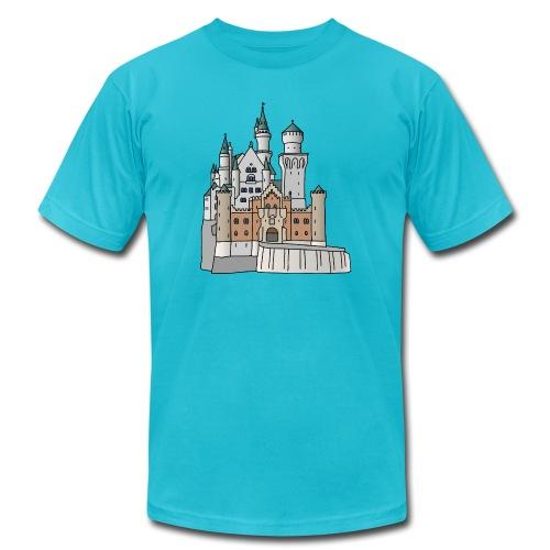 Neuschwanstein Castle, Bavaria - Unisex Jersey T-Shirt by Bella + Canvas