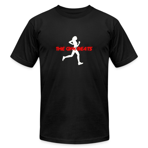 The GYM BEATS - Music for Sports - Unisex Jersey T-Shirt by Bella + Canvas