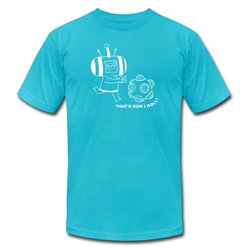 eric rolling2 - Unisex Jersey T-Shirt by Bella + Canvas
