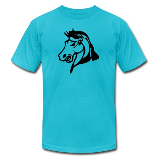 stallions - Unisex Jersey T-Shirt by Bella + Canvas