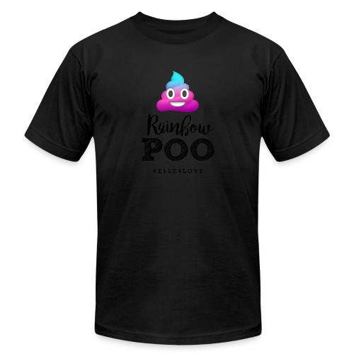 Rainbow Poo - Unisex Jersey T-Shirt by Bella + Canvas