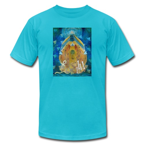Cosmic Shakti Design by Arathi Ma - Unisex Jersey T-Shirt by Bella + Canvas