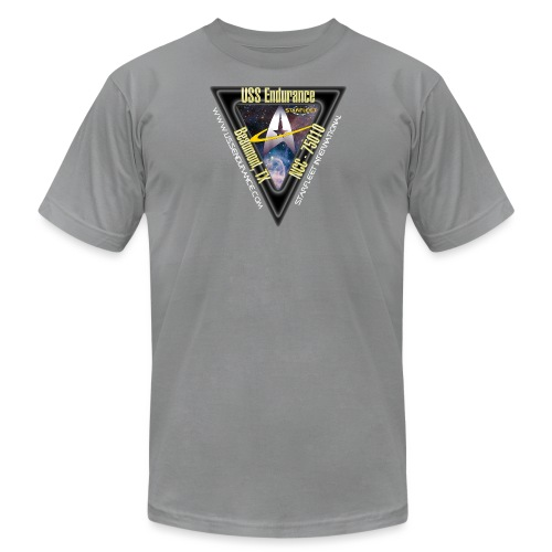USS Endurance Logo - Unisex Jersey T-Shirt by Bella + Canvas