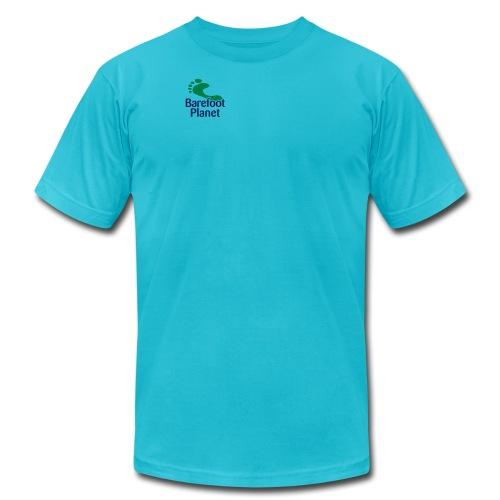 Get Out & Run Barefoot Women's T-Shirts - Unisex Jersey T-Shirt by Bella + Canvas