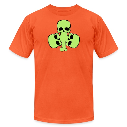 skull_shamrock - Unisex Jersey T-Shirt by Bella + Canvas