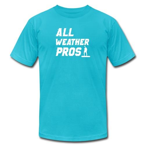 Messenger 841 All Weather Pros Logo T-shirt - Unisex Jersey T-Shirt by Bella + Canvas