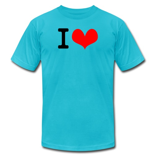 I Love what - Unisex Jersey T-Shirt by Bella + Canvas