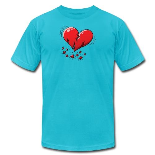 Heartquake - Men's Jersey T-Shirt