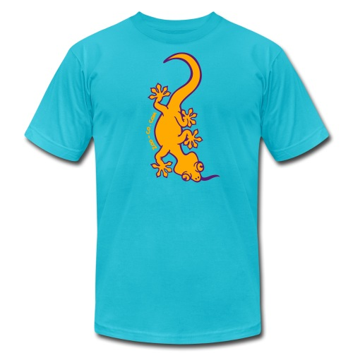 Gecko - Unisex Jersey T-Shirt by Bella + Canvas