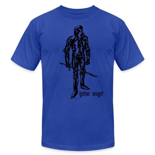Gothic Knight Standard Mens T-shirt - Unisex Jersey T-Shirt by Bella + Canvas