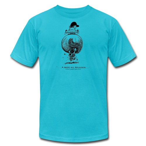 PonyGalopp Thelwell Cartoon - Unisex Jersey T-Shirt by Bella + Canvas