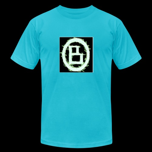 The BD Logo - Unisex Jersey T-Shirt by Bella + Canvas