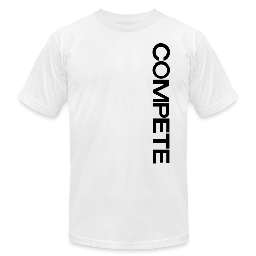 speadshirt compete logo sm - Unisex Jersey T-Shirt by Bella + Canvas