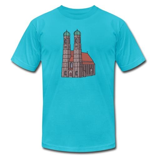 Munich Frauenkirche - Unisex Jersey T-Shirt by Bella + Canvas