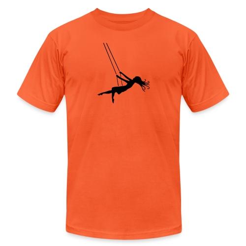 Swinging Girl - Unisex Jersey T-Shirt by Bella + Canvas