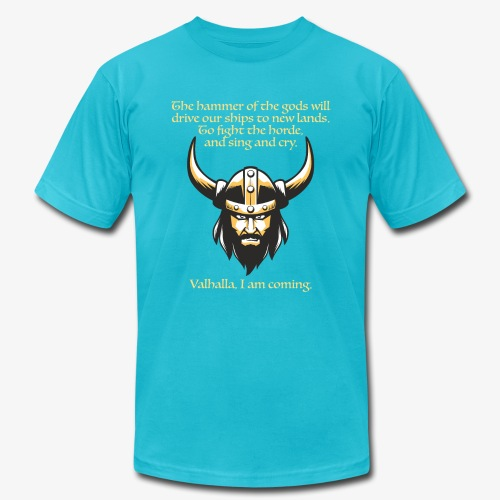 Hammer of the Gods - Unisex Jersey T-Shirt by Bella + Canvas