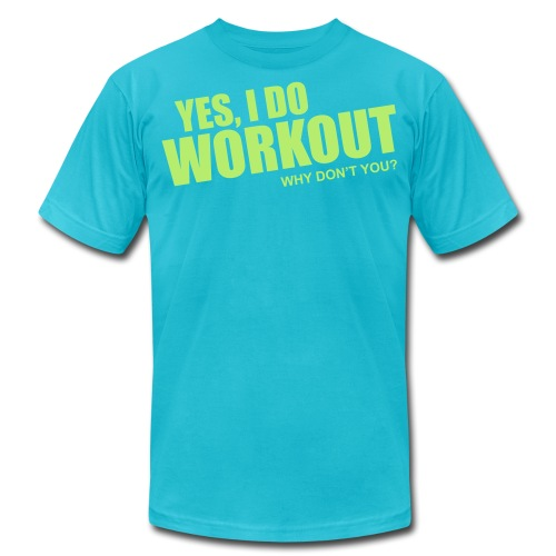workout - Unisex Jersey T-Shirt by Bella + Canvas