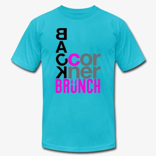 #BackCornerBrunch Summer Drop - Unisex Jersey T-Shirt by Bella + Canvas