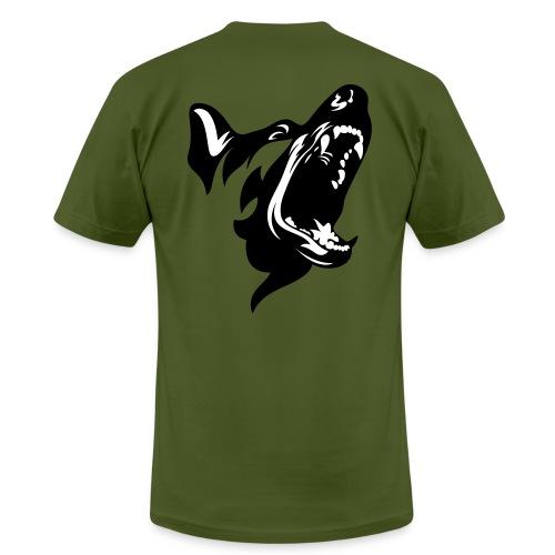 German Shepherd Dog Head - Unisex Jersey T-Shirt by Bella + Canvas