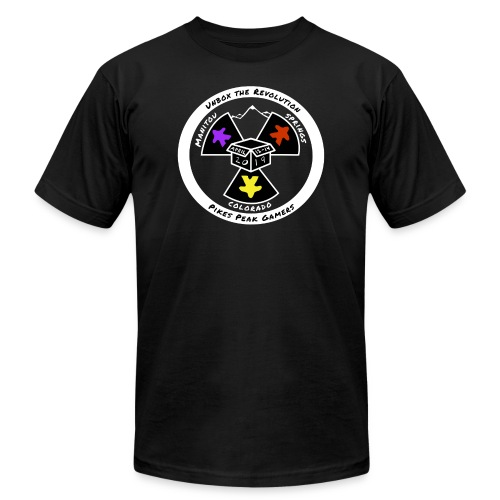 Pikes Peak Gamers Convention 2019 - Clothing - Men's  Jersey T-Shirt
