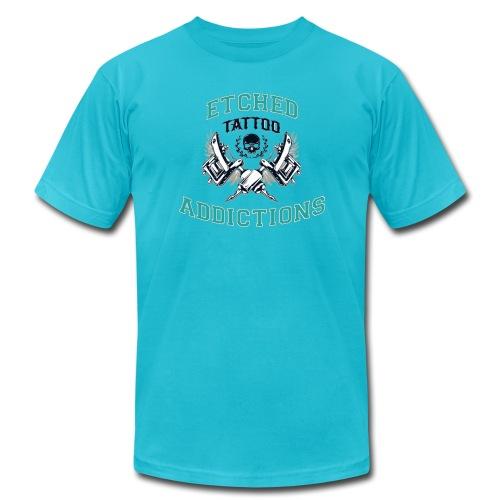 looclearbglarger - Men's Jersey T-Shirt