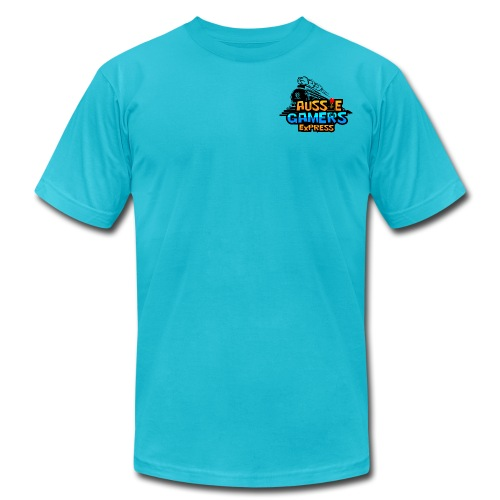 aussiegamers01CROPPED png - Unisex Jersey T-Shirt by Bella + Canvas