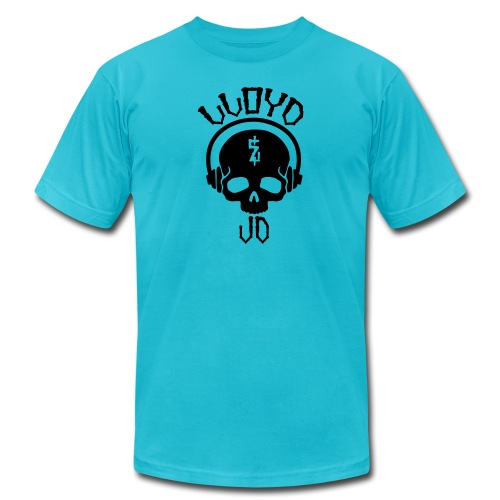 Lloyd JD Logo - Unisex Jersey T-Shirt by Bella + Canvas