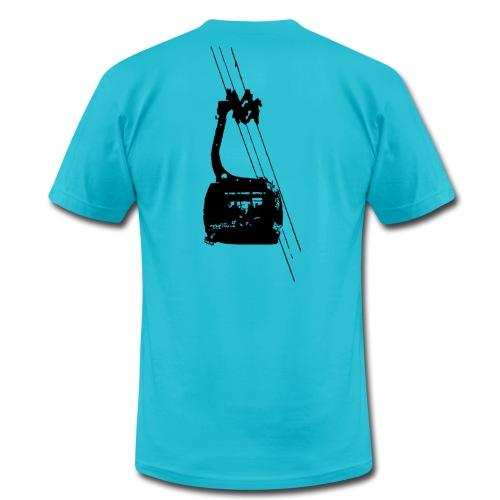 Ski Tram - Unisex Jersey T-Shirt by Bella + Canvas