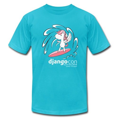 DjangoCon Australia 2018 - Men's  Jersey T-Shirt