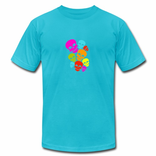 Happy Skull - Men's Fine Jersey T-Shirt