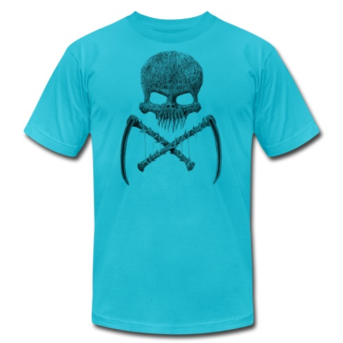 SkullShirt - Unisex Jersey T-Shirt by Bella + Canvas