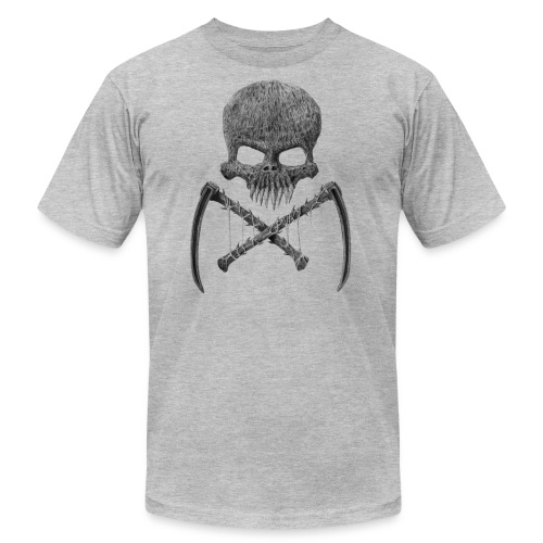 SkullShirt - Unisex Jersey T-Shirt by Bella + Canvas