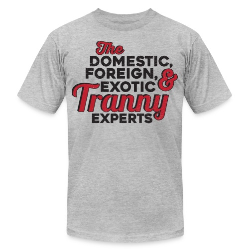 experts - Unisex Jersey T-Shirt by Bella + Canvas