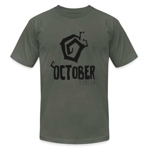 October Duncan2 01 png - Unisex Jersey T-Shirt by Bella + Canvas