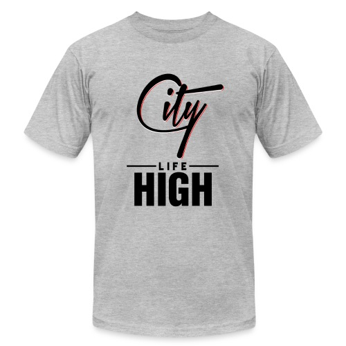 City High Life - Unisex Jersey T-Shirt by Bella + Canvas