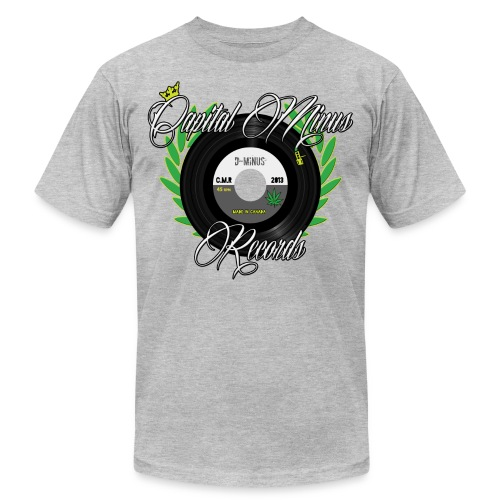 Capital Minus Records - Unisex Jersey T-Shirt by Bella + Canvas