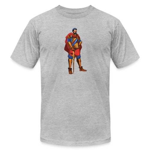 king png - Unisex Jersey T-Shirt by Bella + Canvas