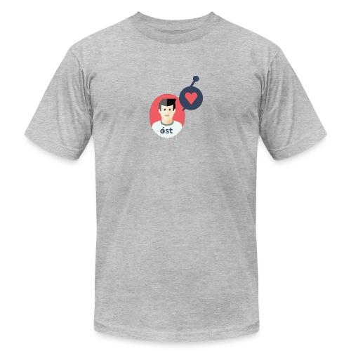 the OSTonian - Men's Jersey T-Shirt