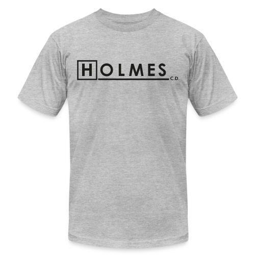 Holmes Consulting Detective Black Text - Unisex Jersey T-Shirt by Bella + Canvas