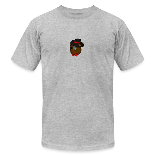 Bears in tophats - Unisex Jersey T-Shirt by Bella + Canvas