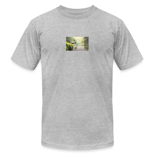 fishing - Men's  Jersey T-Shirt