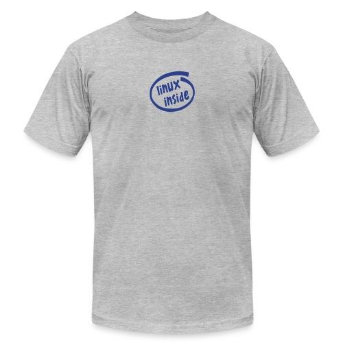 linux inside - Unisex Jersey T-Shirt by Bella + Canvas