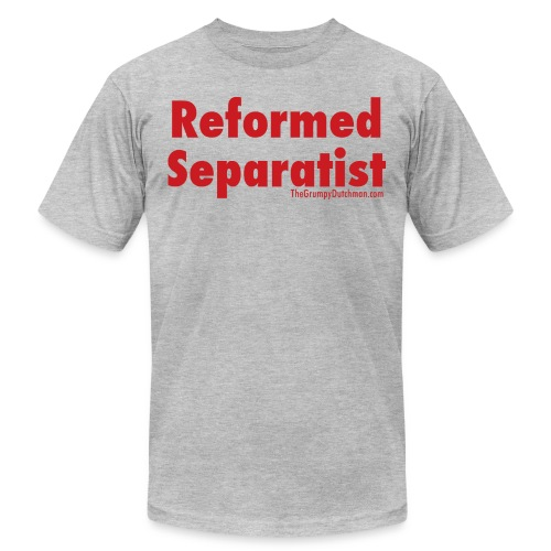 34 Separatist red lettering - Unisex Jersey T-Shirt by Bella + Canvas