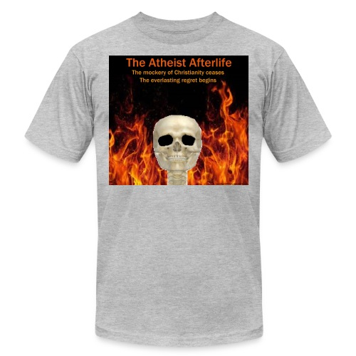 Atheist afterlife - Men's Jersey T-Shirt
